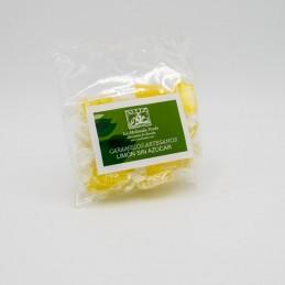 Caramelos de limón sin azúcar