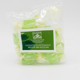 Caramelos de menta sin azúcar