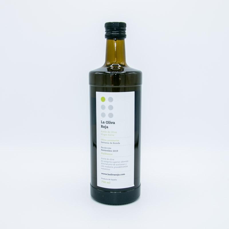 Aceite de oliva virgen extra. Botella 750ml