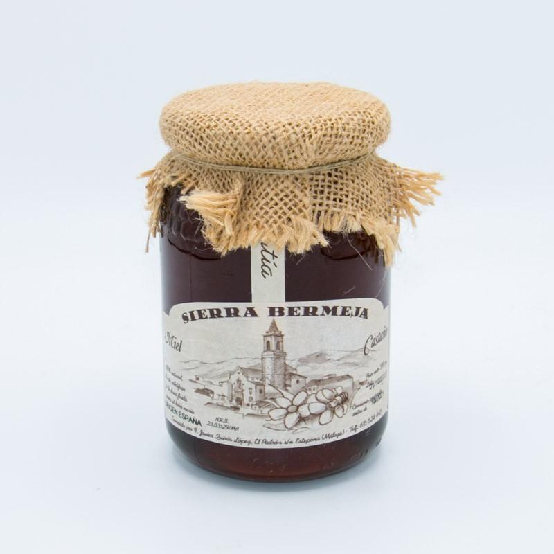 Miel de castaño Sierra Bermeja 500gr