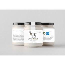 Yogur de cabra sin azúcar. 500 g