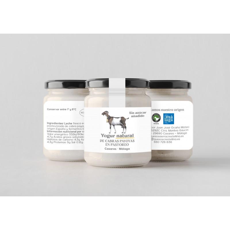 Yogur de cabra sin azúcar. 1000 g